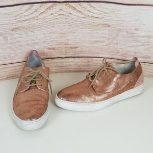 Coque Terra Pebbled Rose Gold Sneakers 7M (36)
